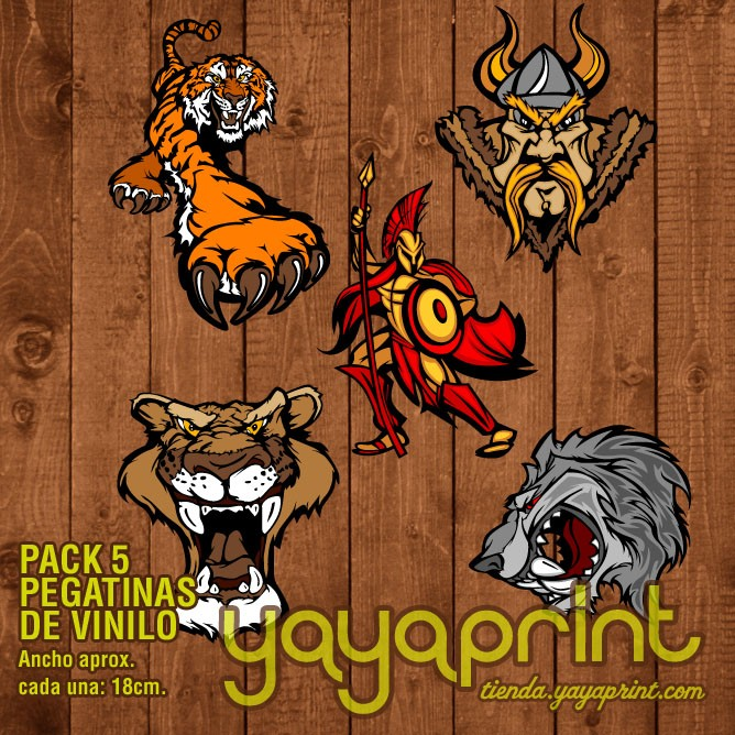 Children´s wall decals and stickers. Pegatinas vinilo pack ...