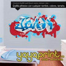 Graffiti decoración Barcelona personalizable 30