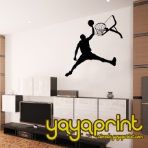 Vinilo decorativo pared Baloncesto 10