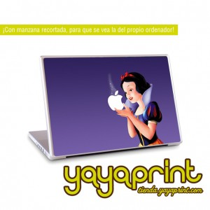 vinilo blanca nieves para mac (Apple)