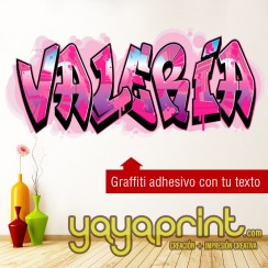 graffiti de tu nombre vinilo adhesivo vinilo decorativo adhesivo para pegar en pared barato papel decorado, vinilos sticker calcomanias decoración habitación decorar cuarto dormitorio cuna. Pegatina Calcomania, mural graffiti Ideas tendencias Decoración I