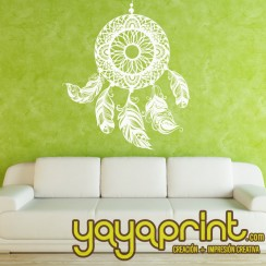 Vinilo yayaprint Atrapa sueños. Dream Catcher wall deco
