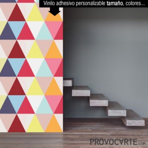 Fotomural vinilo pattern retícula decoración decorar pared diseño interior geométrico salón habitación dormitorio personalizable nuevas tendencias decoración Yayaprint
