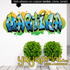 Grafiti Martina vinilo decorativo adhesivo vinilo decorativo adhesivo para pegar en pared barato papel decorado, vinilos sticker calcomanias decoración habitación decorar cuarto dormitorio cuna. Pegatina Calcomania, mural graffiti Ideas tendencias Decorac
